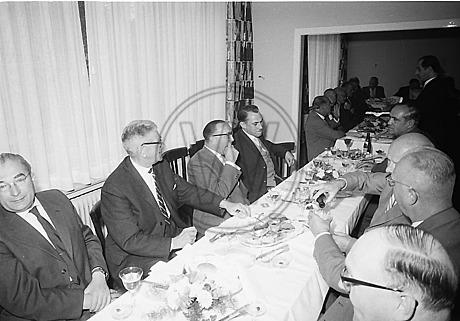 Eröffnung der LzO-Filiale Osternburg 1959