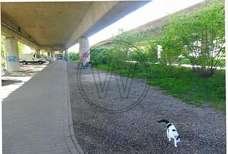 Autobahnbrücke in Eversten