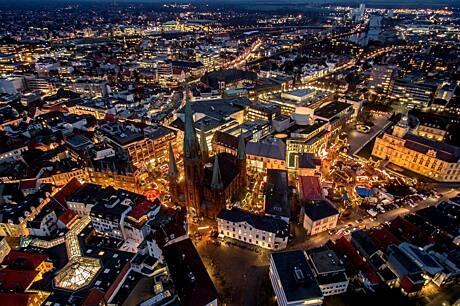 Lambertimarkt und Innenstadt