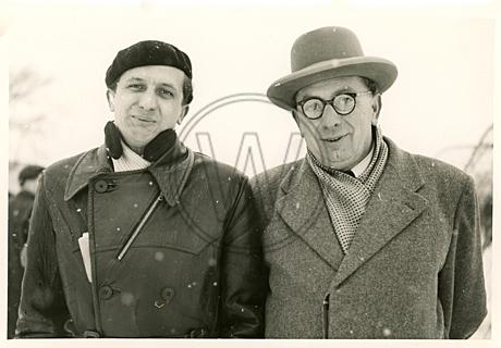 Porträt von zwei Männern