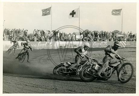 Motorradrennen auf der Victoria-Kampfbahn